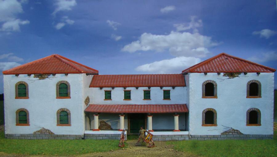 Tmp villa rustica 1 72 28mm topic for Villas rusticas